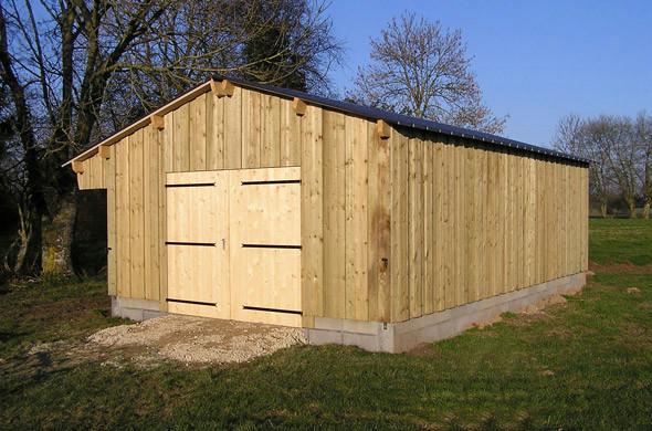 Garage et abri de jardin